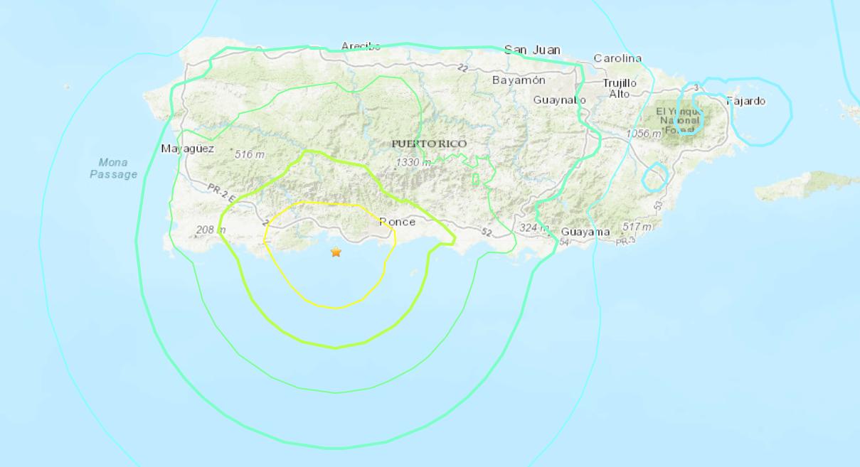 Puerto Rico quake 1-7-2020