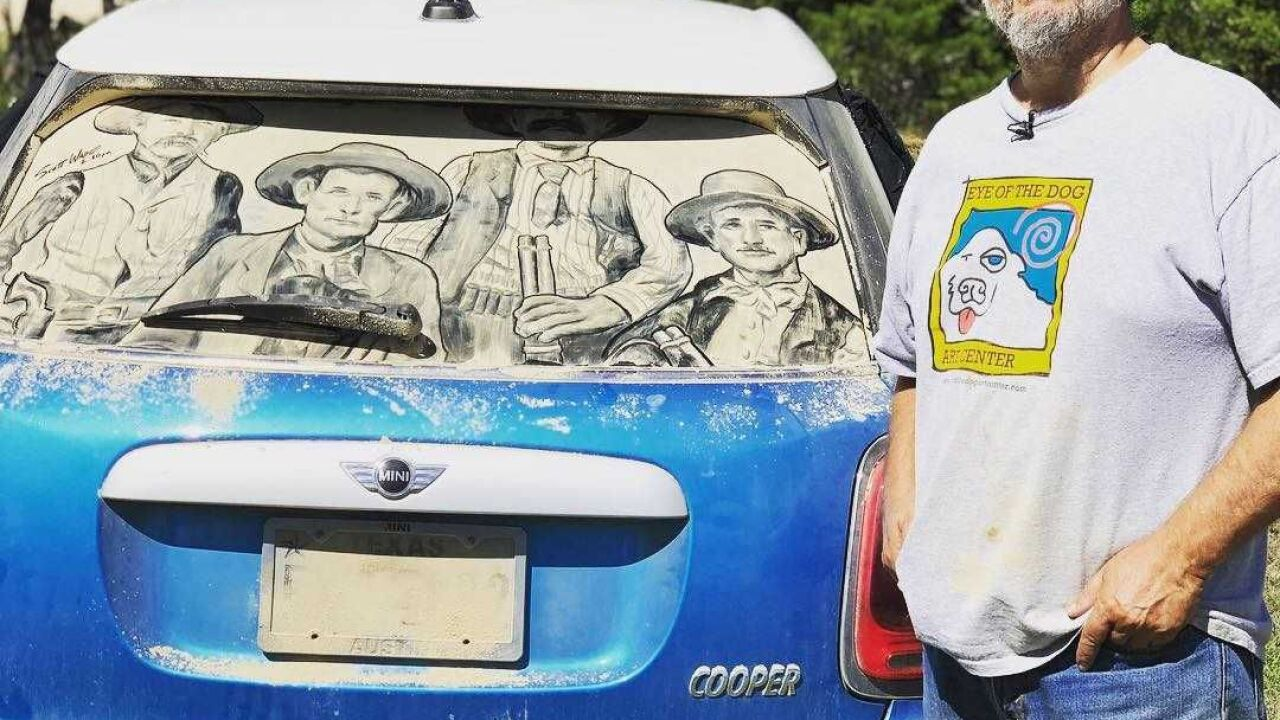 Texas Voices: Scott Wade 'Dirty Car Artist'