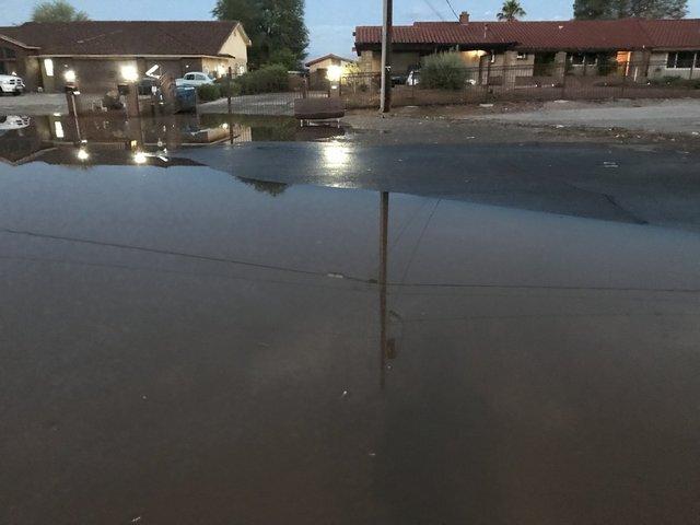 PHOTOS: Monsoon storms bring rain, flooding to Las Vegas valley