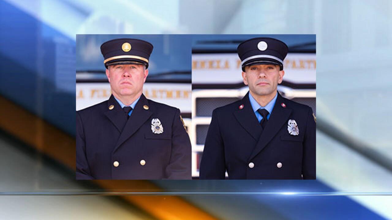 Two Lenexa firefighters awarded Public Safety Officer Medal