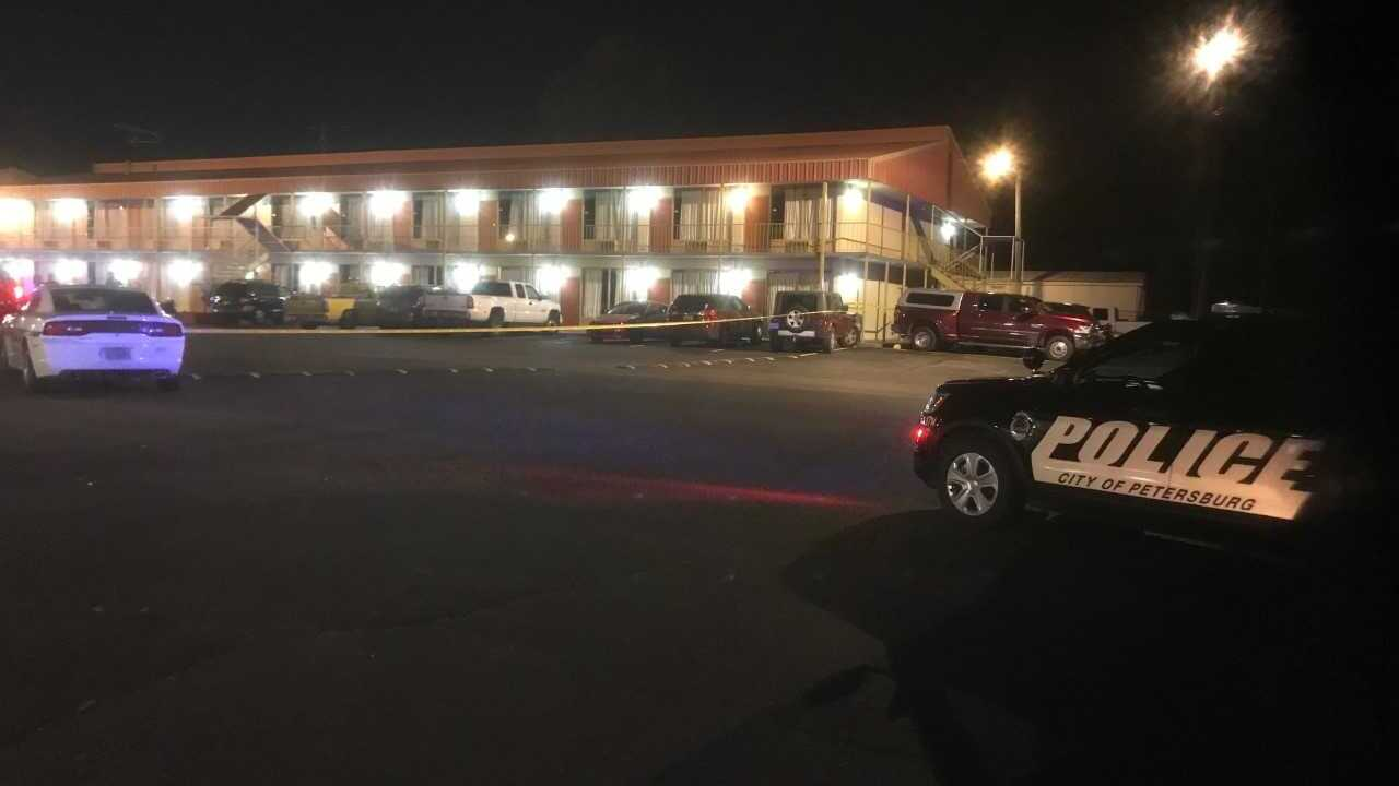 Police investigating shooting at Petersburg hotel