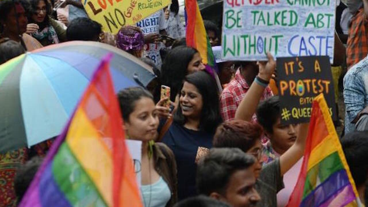 India's LGBT community reacts to Section 377 gay sex ruling