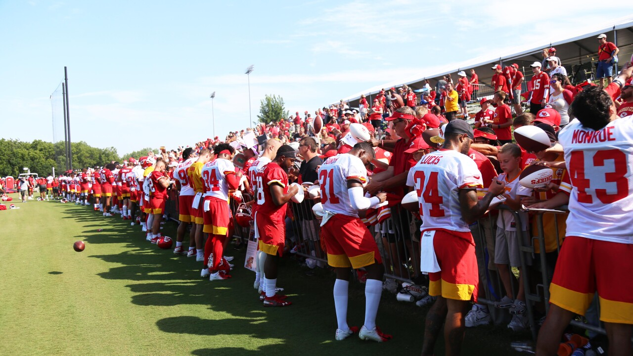 big sale e0517 b4c38 Chiefs make roster cuts for 2019 season