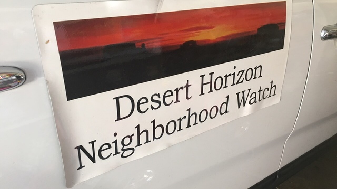 Watchful neighbors on patrol in North Las Vegas