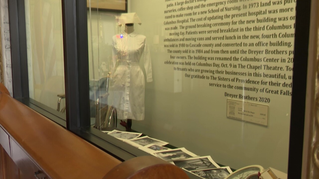 Columbus Center unveils display celebrating its history