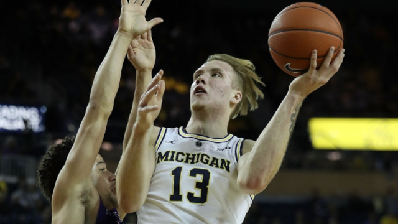 No. 18 Michigan beats Providence for Tip-Off championship