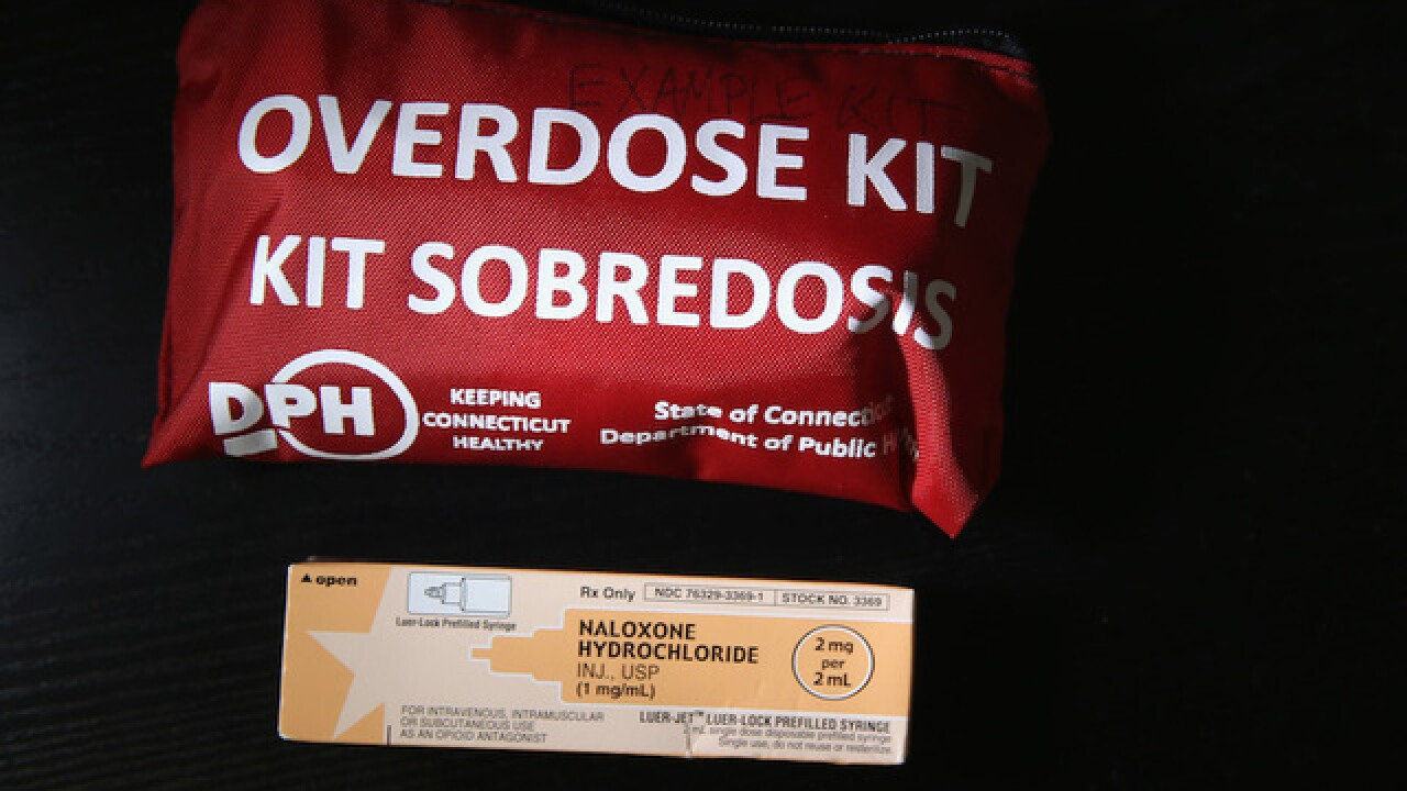 Police give naloxone to dog that got into owner's oxycodone