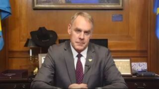 Zinke says not the time to cast blame over California fires, then rips 'radical environmentalists'