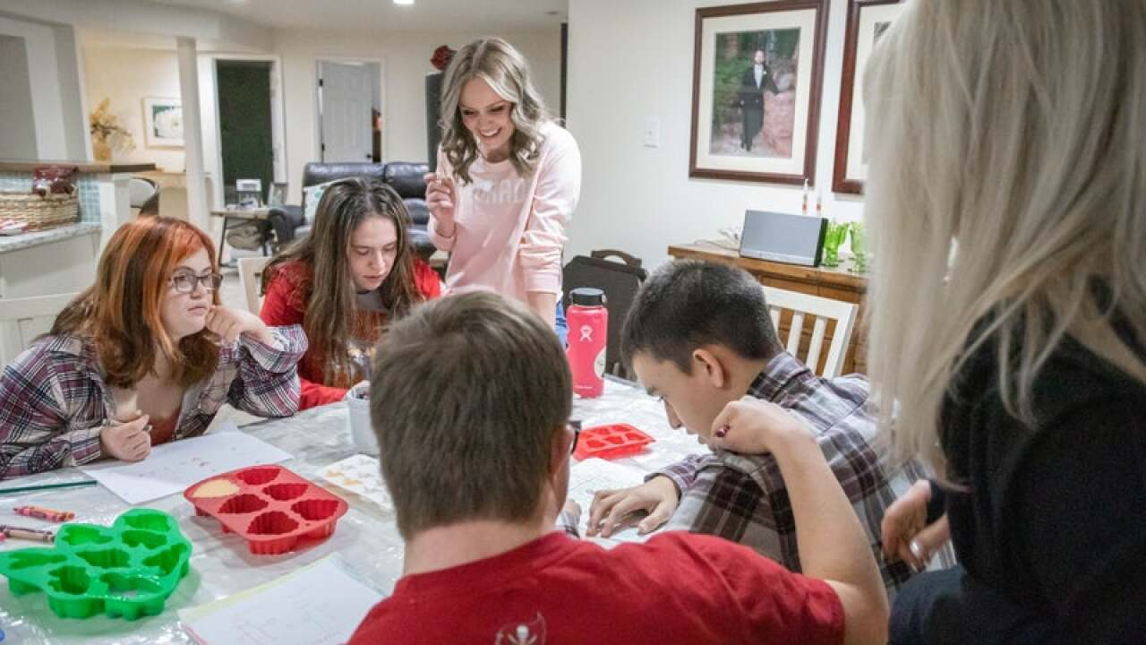 Local teen makes soaps with a purpose