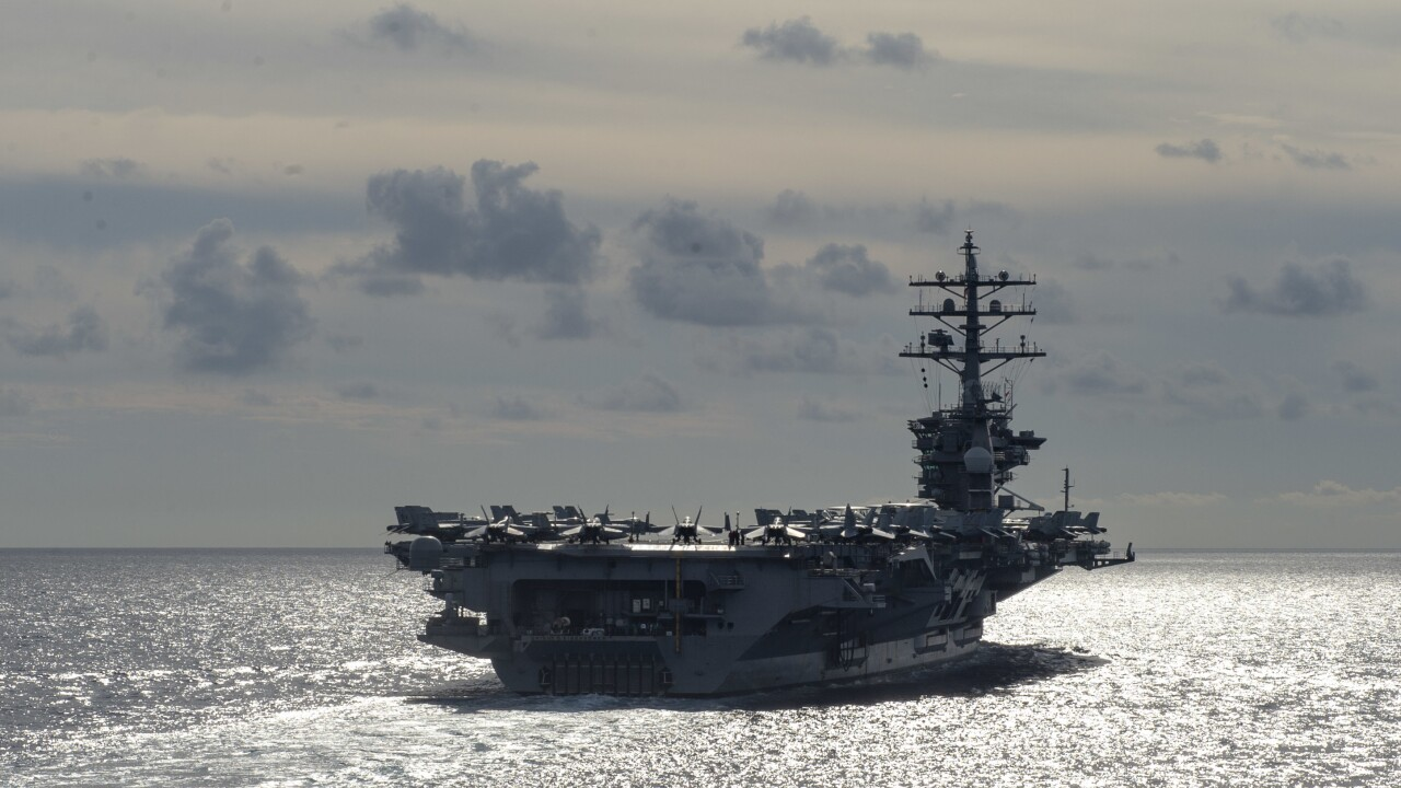 USS Eisenhower returns to Norfolk after passing pre-deployment workup test