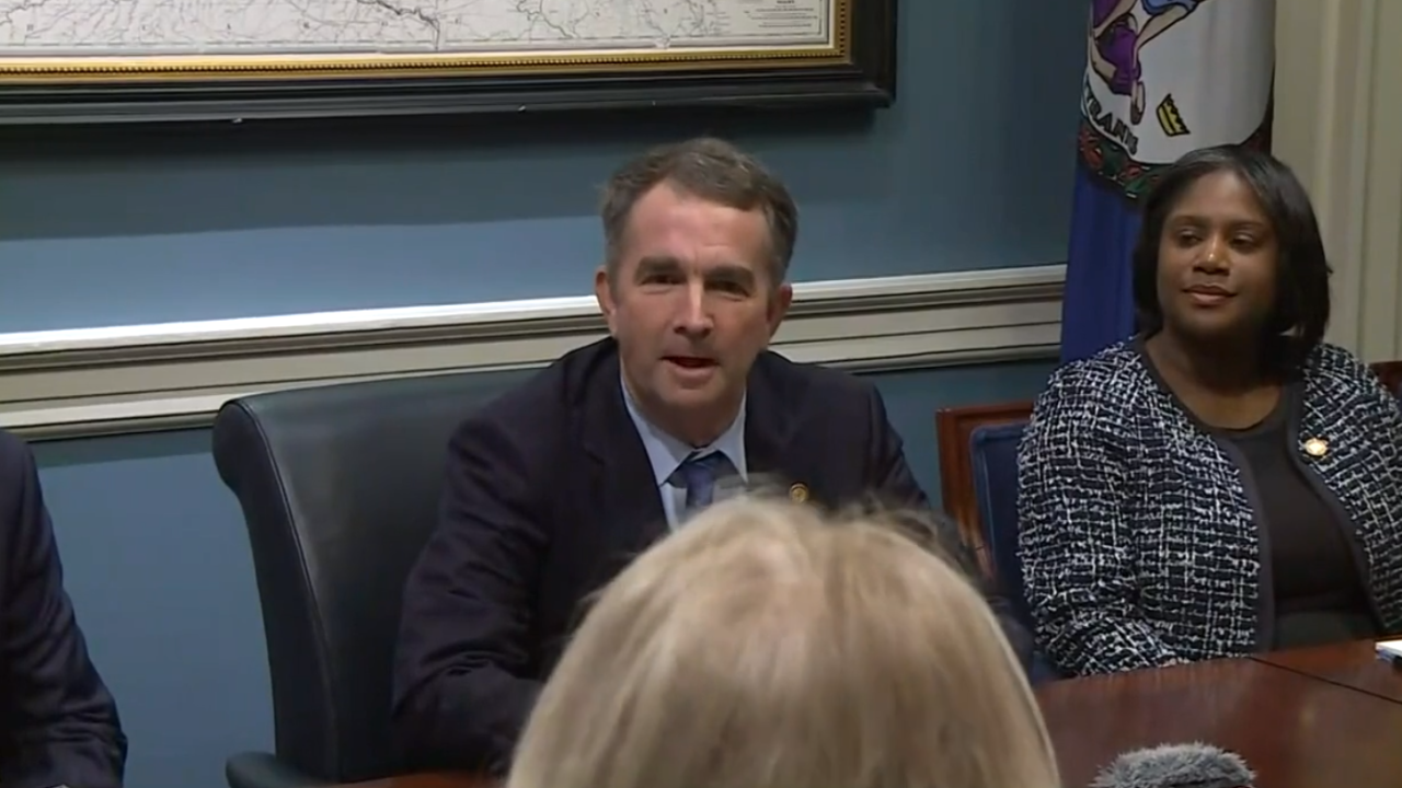 Gov. Northam says localities could face 'consequences' if law enforcement officers don't enforce gun laws