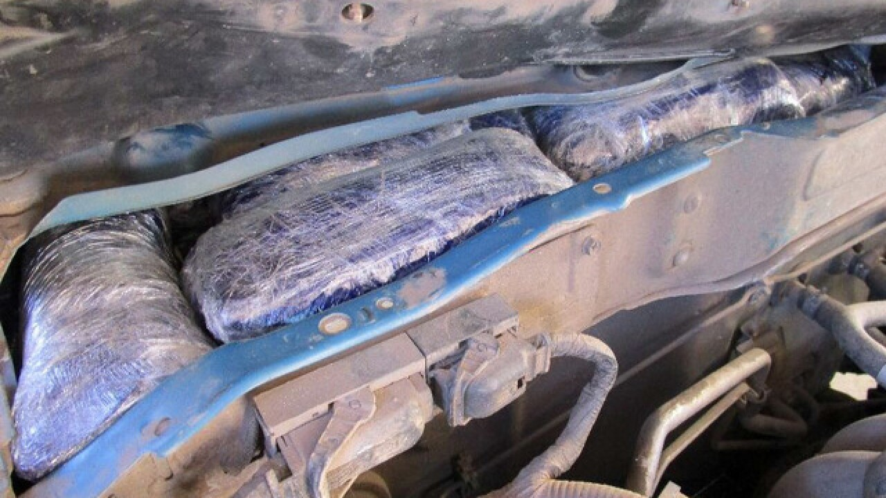 CBP: Woman found with cocaine around belly