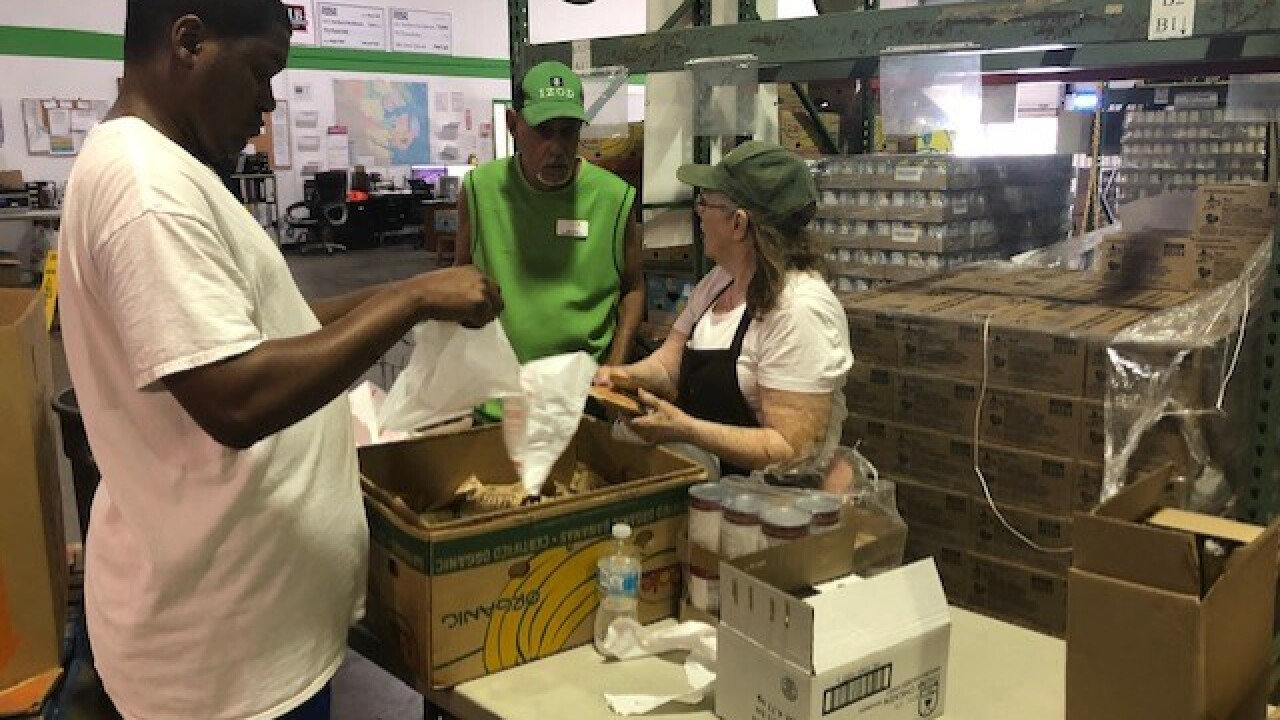 Food Bank of the Albemarle closing door on hunger for Hurricane Dorianvictims