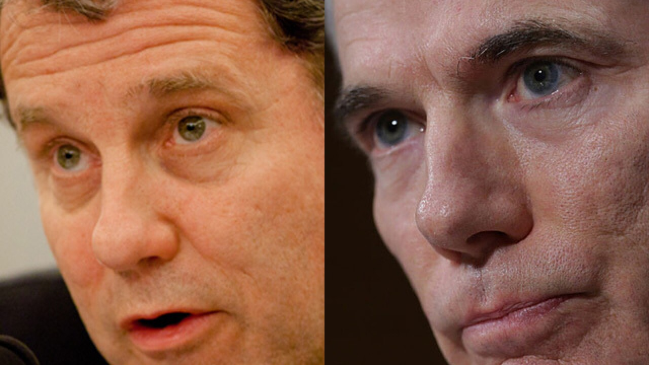 Brown, Portman plan to vote along party lines on Kavanaugh