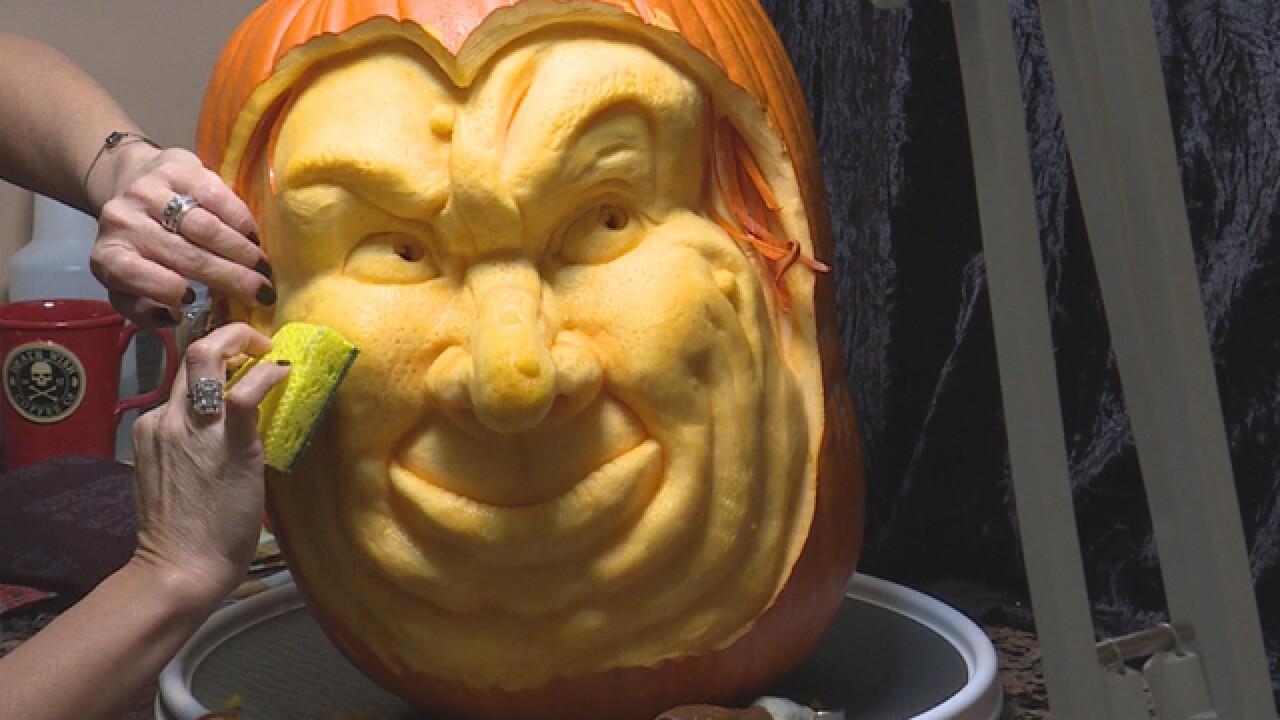 Nashville master carver creates scary-good Jack-o-lanterns