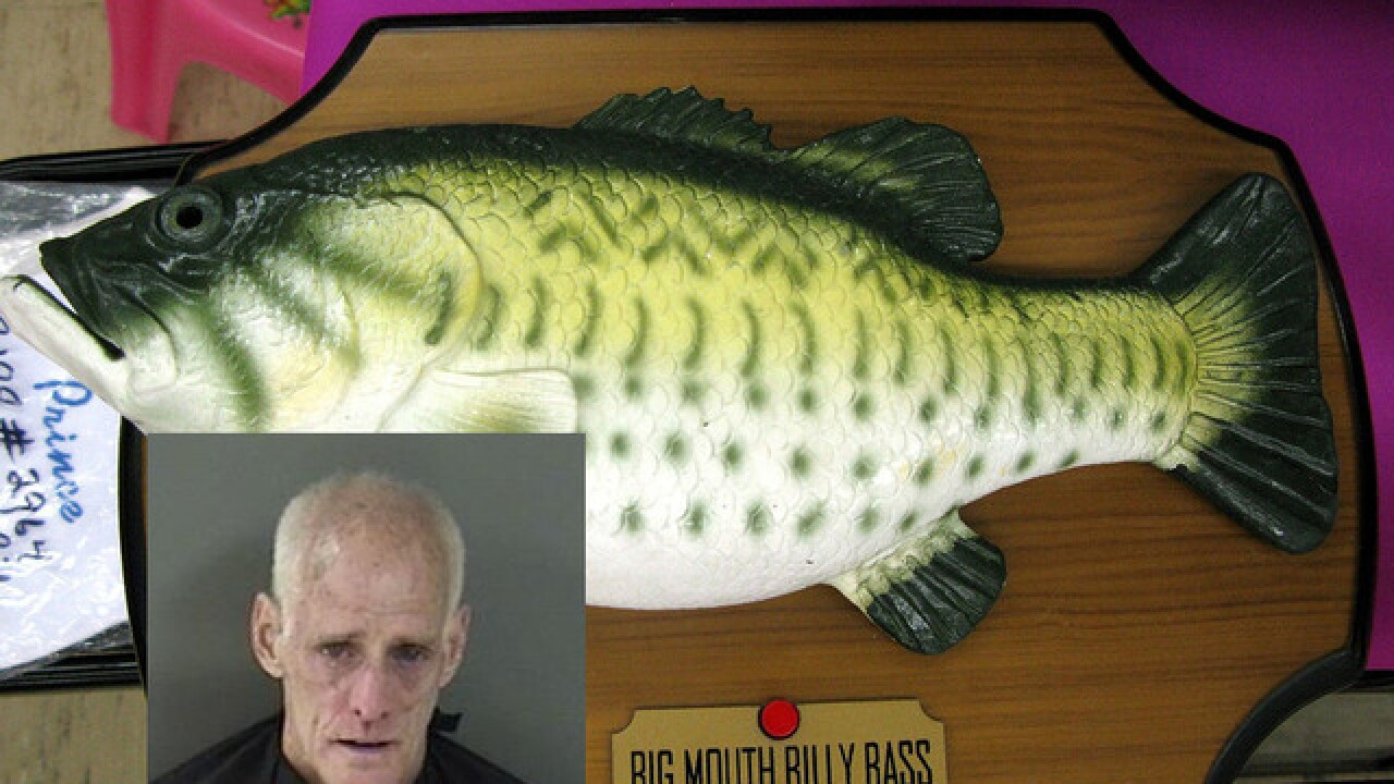 Man slapped with Big Mouth Billy Bass singing fish after argument, police say