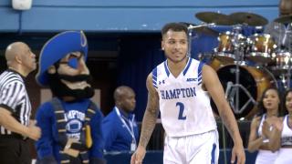 Marrow the marksman: Hampton's Jermaine Marrow is one of college basketball's bestscorers