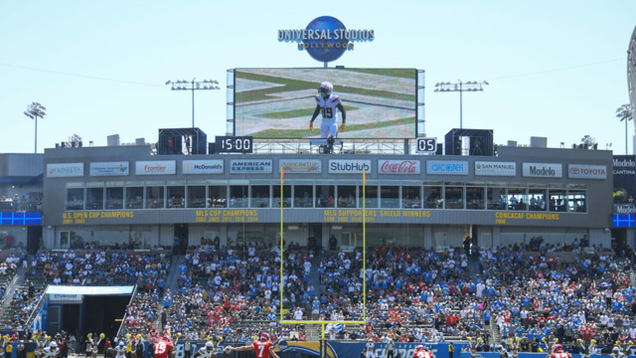 Report: Chargers' LA stint a concern for NFL