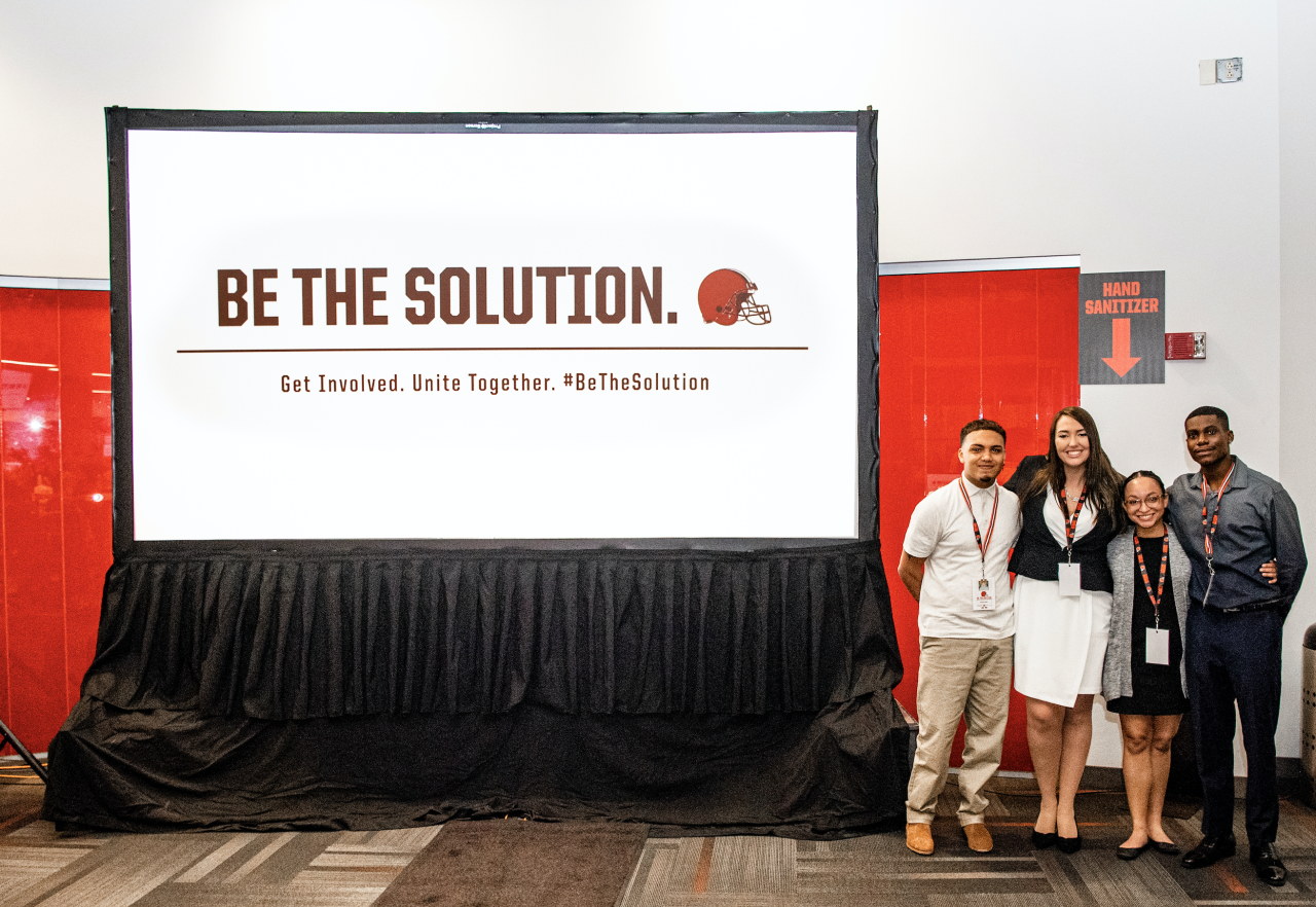 Be the Solution workshop winners