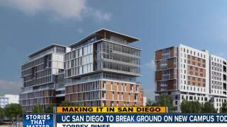 "UC San Diego breaks ground on new campus ""Living and Learning"" center"