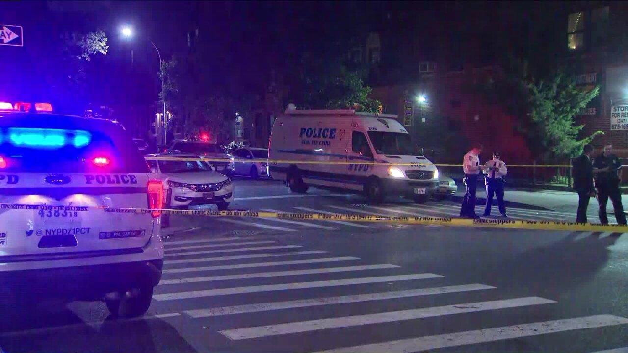 Crown Heights shootings on July 15, 2020