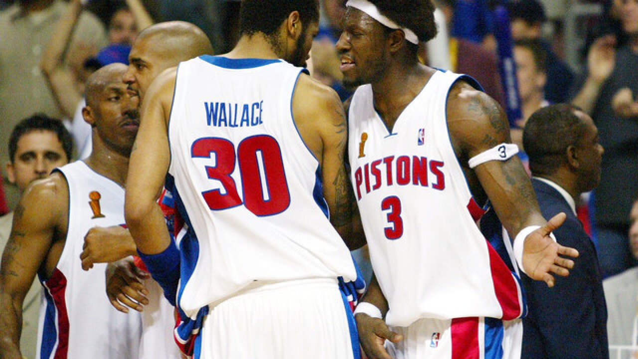 This day in 2004: Pistons win third NBA title