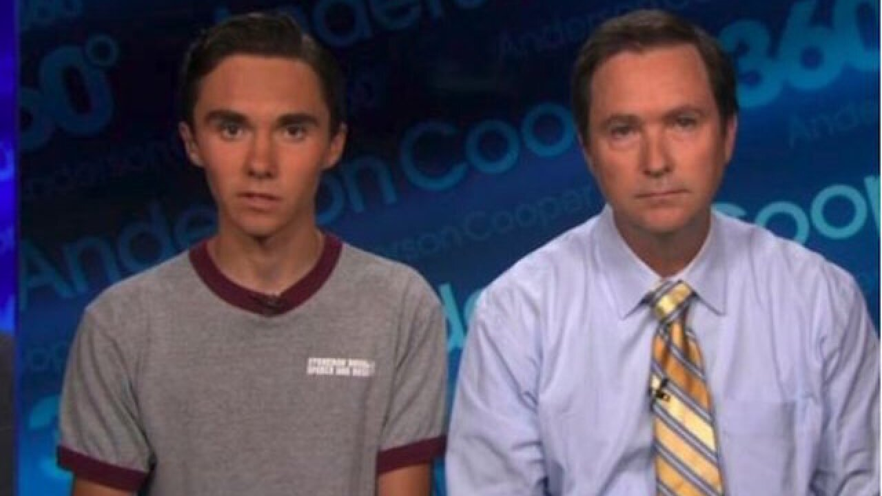 Trending YouTube video calls shooting survivor David Hogg an actor. That's a lie