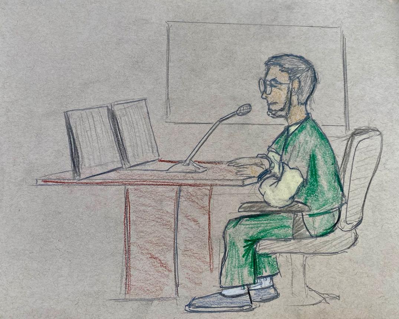 Garbin Court Sketch 2