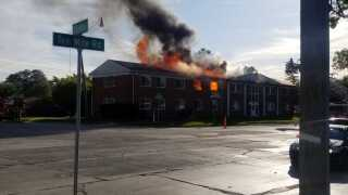 Fire in Southfield on 10 Mile and Fairfax.jpeg