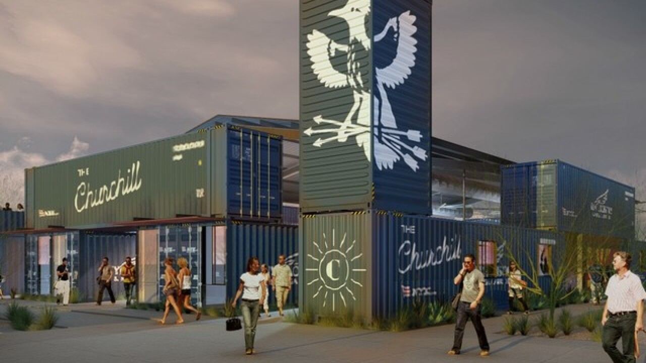 New PHX market to be made of 19 shipping crates