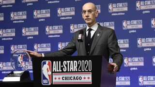 NBA All Star Game Adam Silver