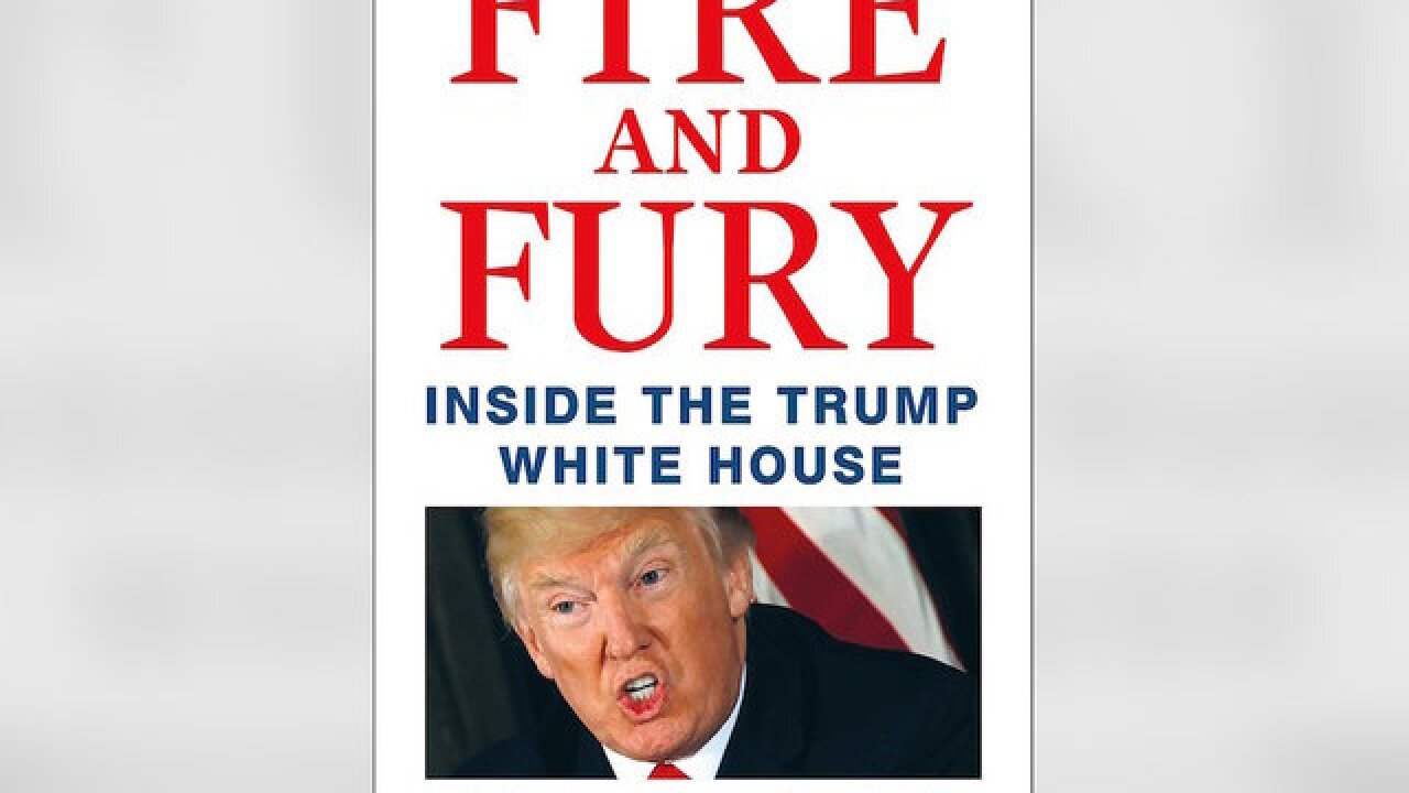 Controversial Trump book to be released tomorrow, four days ahead of schedule
