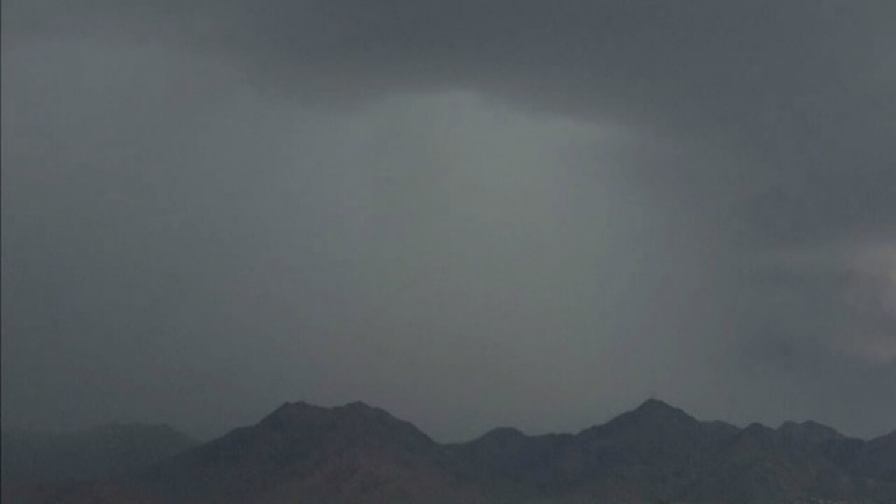 Valley rainfall totals: How much rain has fallen around Phoenix?