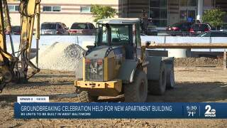 Groundbreaking celebration held for Renaissance Row Apartments