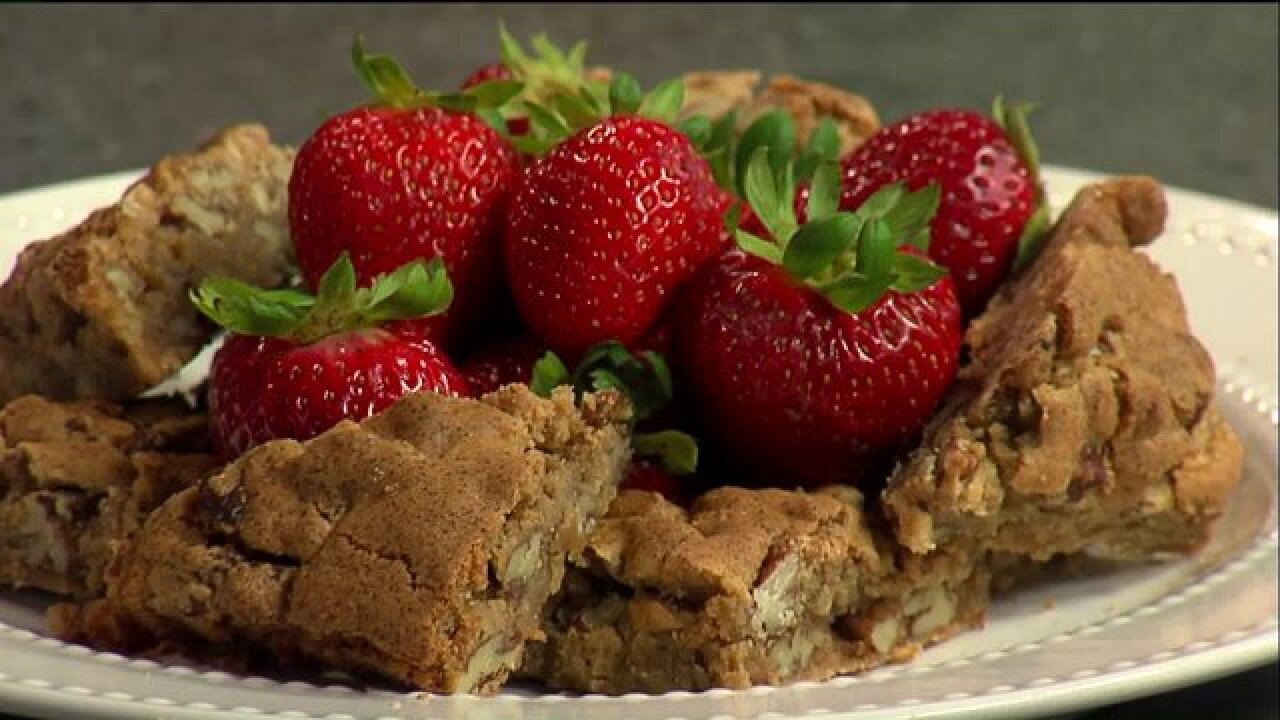 Check out this easy recipe for Big Herm's signatureBlondies