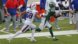 Matt Milano Jets Bills