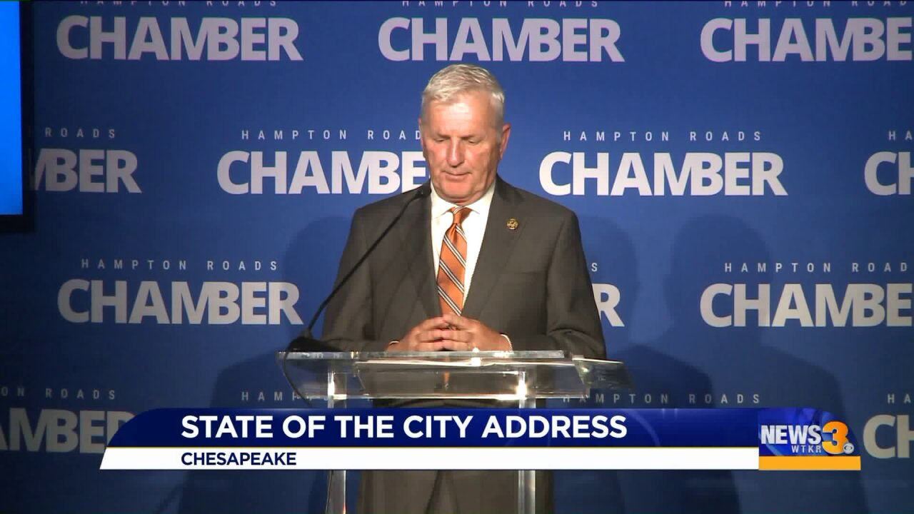 Chesapeake mayor delivers annual State of the Cityaddress