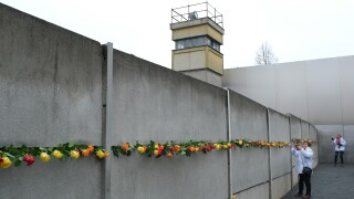 Germany Celebrates 30th Anniversary Of Berlin Wall
