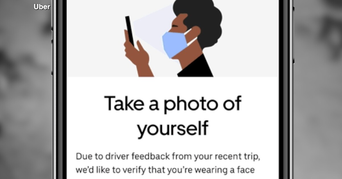 Uber will require riders to take a mask-wearing selfie if a driver reports them not wearing one