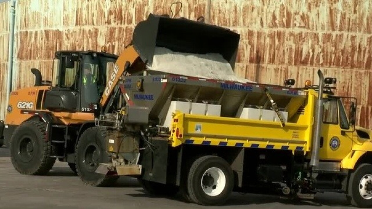 Searching for salt ahead of next storm on Feb. 11