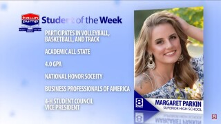 Student of the Week: Margaret Parkin