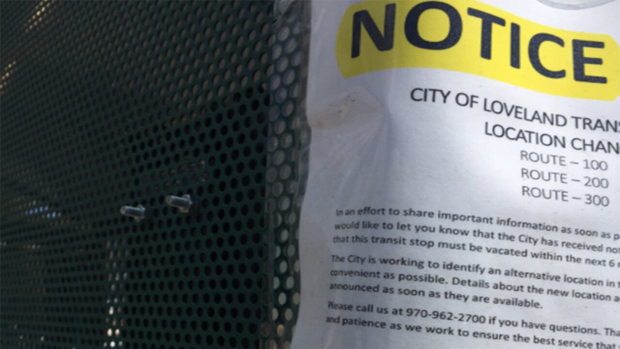 Transient problems lead to removal of bus stops