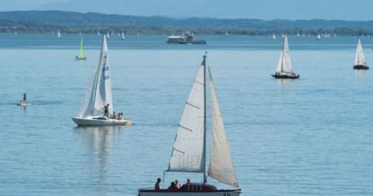 This might be the perfect weekend for sailing, running