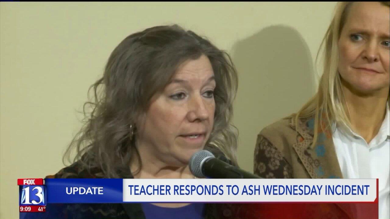 Teacher apologizes for Ash Wednesday mishap, family not buyingit