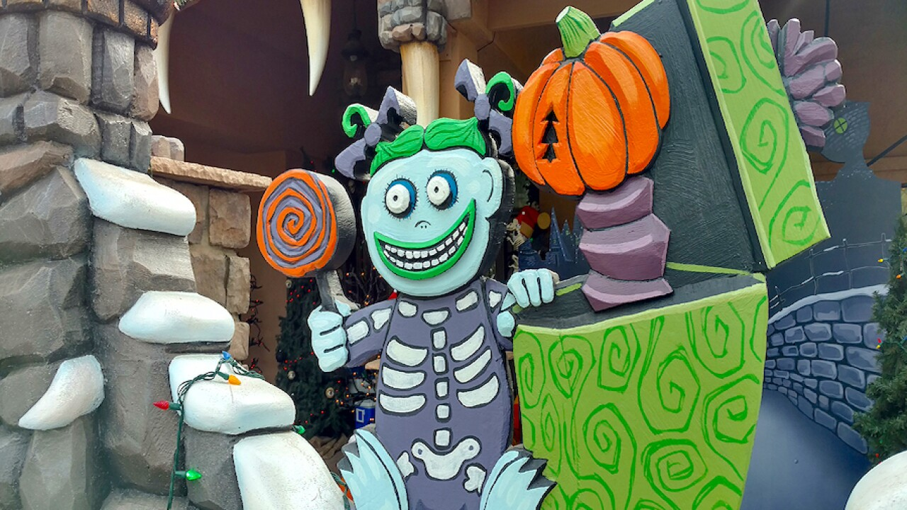There is a 'Nightmare Before Christmas' house in Arizona!