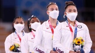 Relive Team USA's performance in the women's gymnastics team final