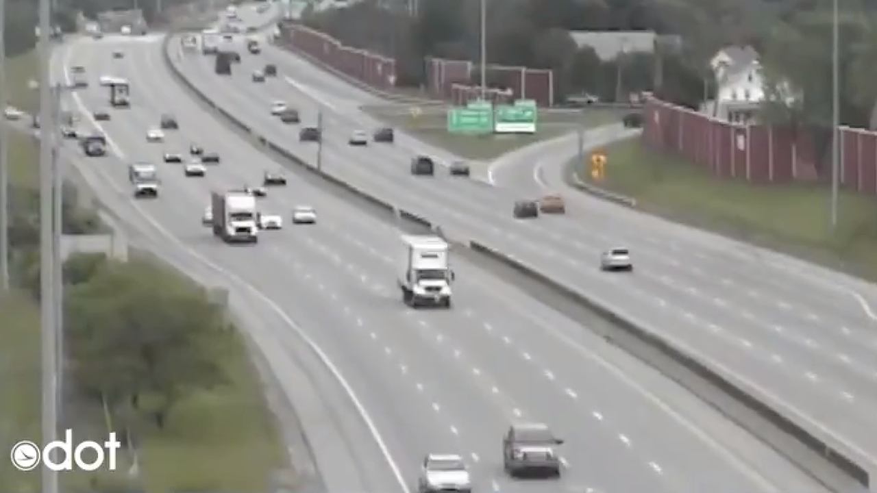 ODOT cameras show earthquake in Northeast Ohio on  June 10, 2019