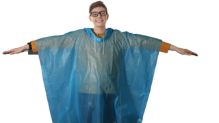 Children's rain ponchos recalled due to strangulation hazard