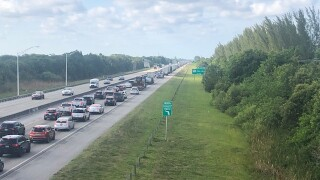 Florida's Turnpike closed, May 25, 2021