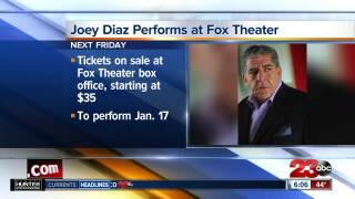 Joey Diaz at the Fox Theater